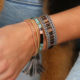 Bracelet tissé To the moon and back_