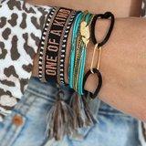 Bracelet tissé One of a kind_