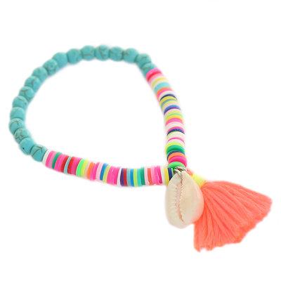 Bracelet bleu d'été