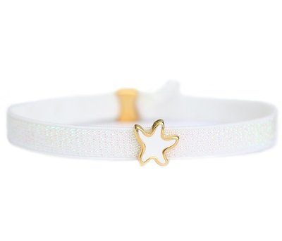 Anklet white star