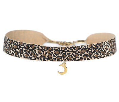 Choker léopard