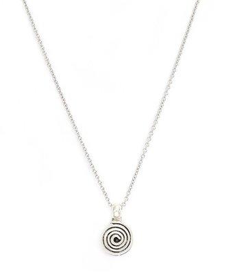 Collier Circle argent