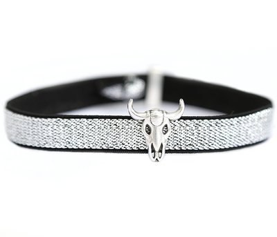 Anklet Buffle argent