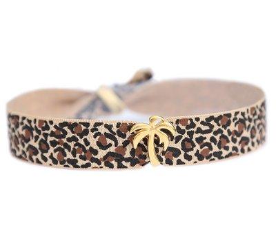 Anklet Palm léopard