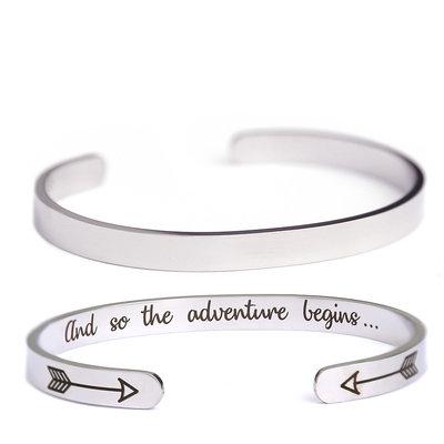 Bracelet Adventure argent