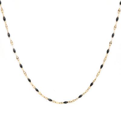 Collier little chain black
