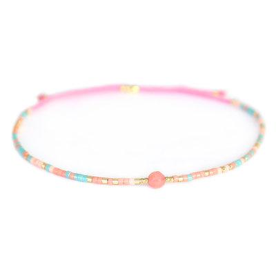 Bracelet Miyuki rose