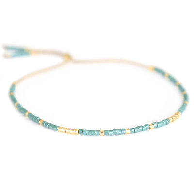Bracelet Miyuki vert