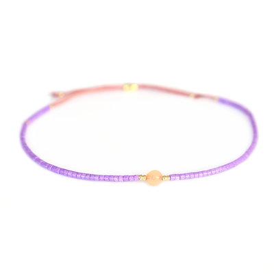 Bracelet Miyuki violet
