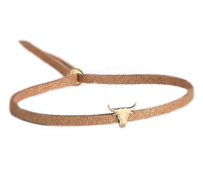 Bracelet marron bronze Buffalo