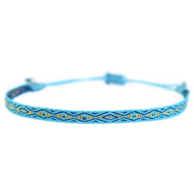 Bracelet Aztec bleu