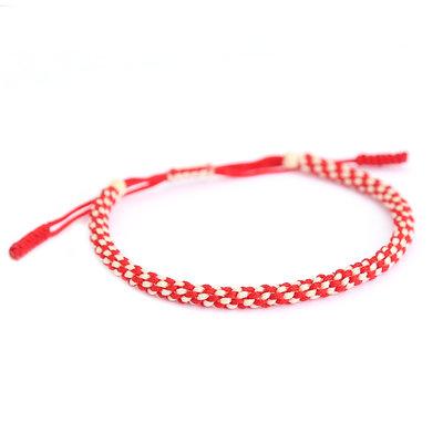 Bracelet bouddhiste rouge