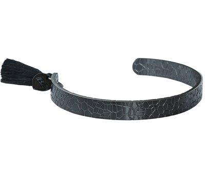 Bracelet serpent noir