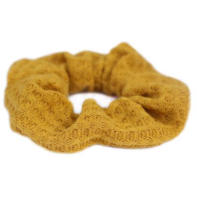 Scrunchie soft ochre