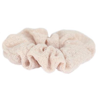 Scrunchie soft beige