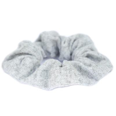 Scrunchie knitted grey