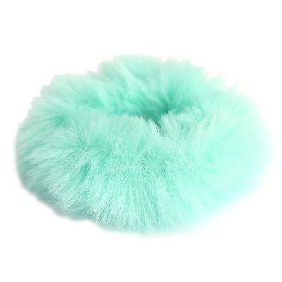Chouchou faux fur ocean