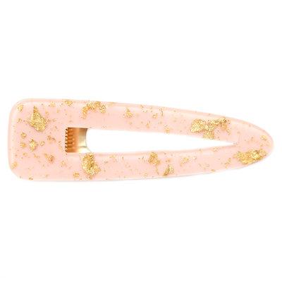 Pince à cheveux Rosé gold flake