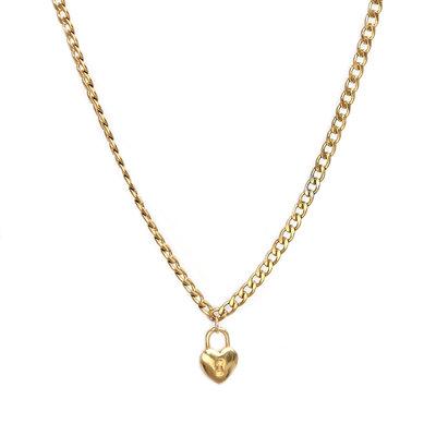 Collier chain heart