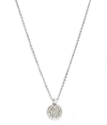 Collier Coin argent