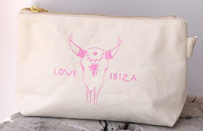 Trousse de maquillage Love Ibiza Pink