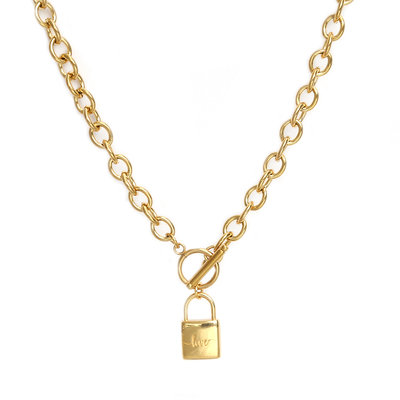 Collier chain lock or