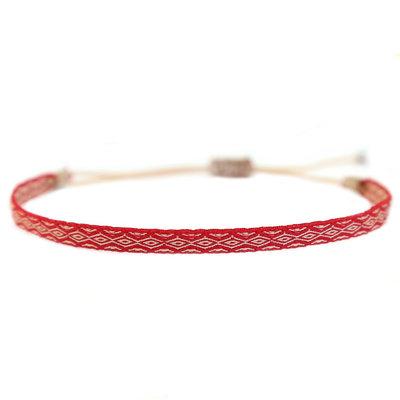 Bracelet Aztec rouge