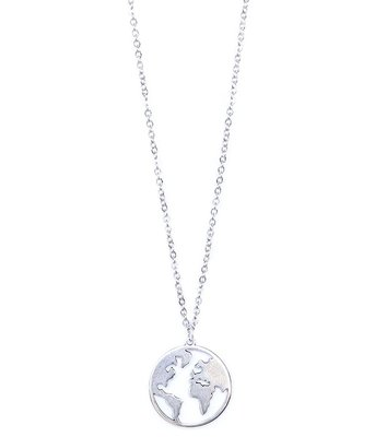Collier Earth argent