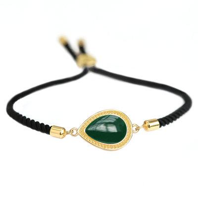Bracelet Versailles bouteille verte