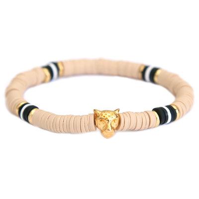 Bracelet leo chic sand