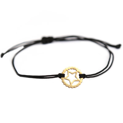 Bracelet gold star