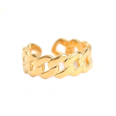 Bague chain or