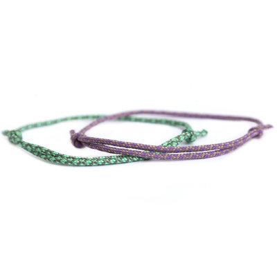 Bracelet set surf culture lilac