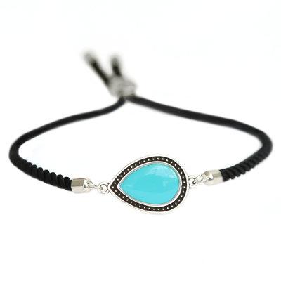 Bracelet Versailles turquoise argent