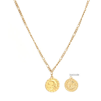 Ketting sun and moon or