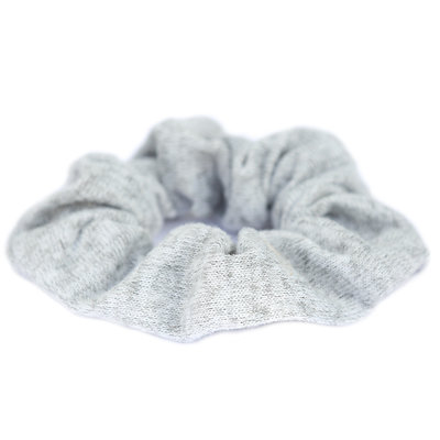 Chouchou knitted gris