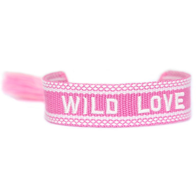 Bracelet tissé Wild love