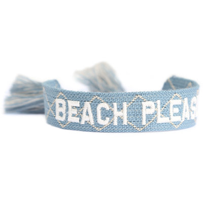 Bracelet tissé Beach please