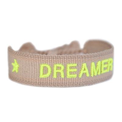 Bracelet tissé DREAMER