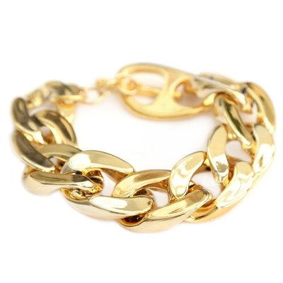 Bracelet large chain or