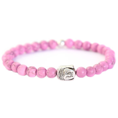 Bracelet Bouddha Pierre lilas