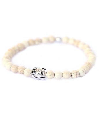 Bracelet Bouddha pierre ivoire