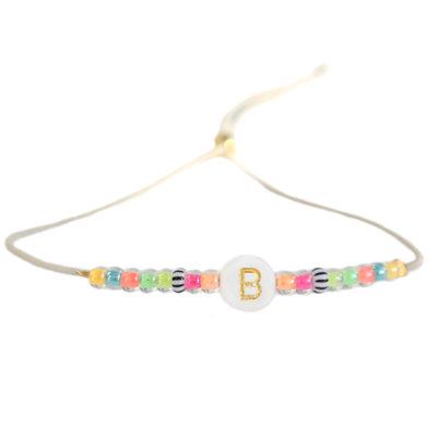 Bracelet lettre Ibiza été