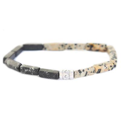 Beachlife bracelet noir duo