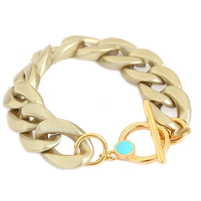 Bracelet chain matte or