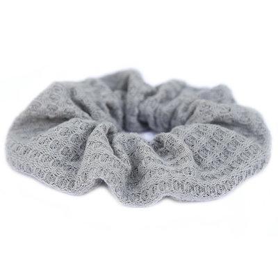 Chouchou soft gris