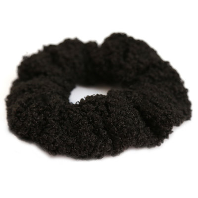 Chouchou teddy noir