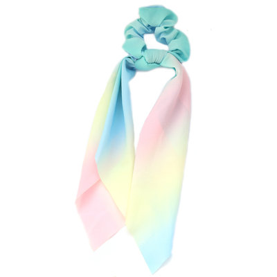 Chouchou écharpe light rainbow tie dye