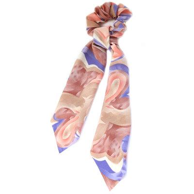 Chouchou écharpe swirl lilacs