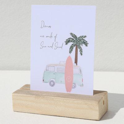 Card - Sun and sand